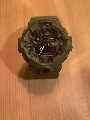 Casio G-shock Ga700uc Super Illuminator Olive Green Watch