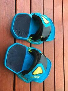 North Entity Pads straps Kitesurfing L/XL 2015 Coogee Cockburn Area Preview