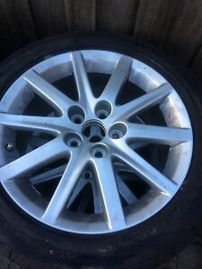 3x 17in WHEELS WITH TYRES 225/50R17 Hampton Park Casey Area Preview