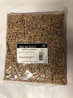 GRAIN, BRIESS 40L Crystal MALT - 1 LB Bag - Beer Brewing Barley Crystal 40 1 Lb Beer Grains
