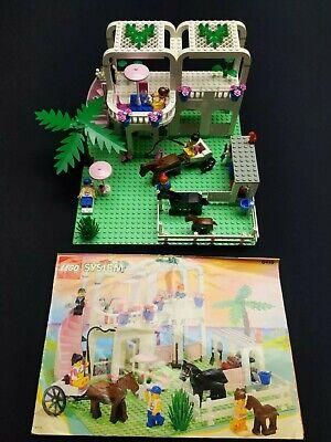 RARE VINTAGE Lego 6418 City Town Paradisa Country Club (1996) w/ Manual