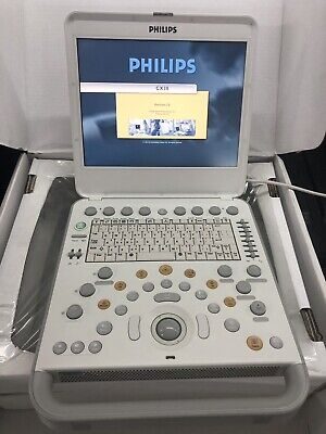 Philips Cx30 Ultrasound System Demo Cx50 With C6-2 Or S4-2 Transducer Probe