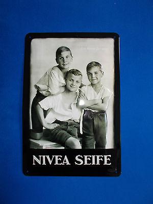 Blechschild Nivea Seife Motiv Original Nivea Werbung 1925 Beiersdorf Germany