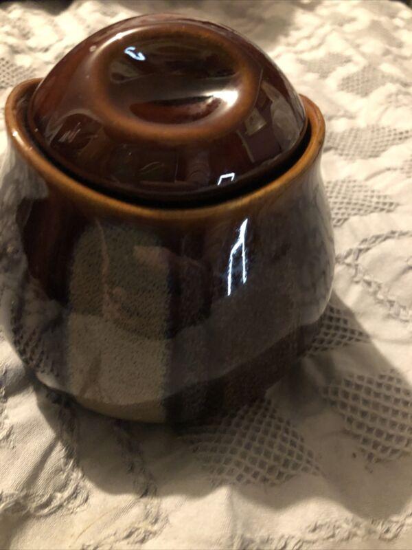 Sango Avanti Brown Sugar Bowl And Lid