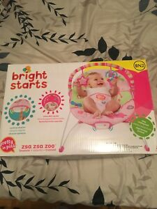 Brand New Bright Starts Baby Bouncer