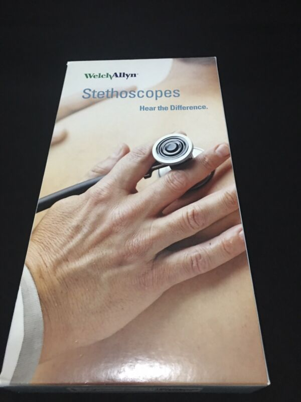Welch Allyn Harvey Professional StethoscopeBlack, 5079-135, opened box ,New