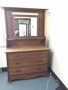Antique Dressing Table and Wardrobe Wembley Cambridge Area Preview