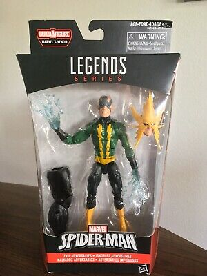 "Marvel Legends ELECTRO Space Venom BAF series Hasbro 6"" 1:12 2016 Sinister Six"