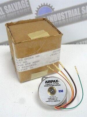 Airpax - Lb82213-m1 Servo Motor 12v 7.5 Degree Step 147 Ohms New In Box