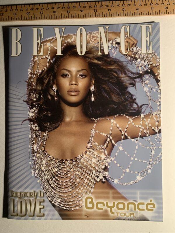 BEYONCÉ Dangerously In Love Tour Book Program 2003 Mint