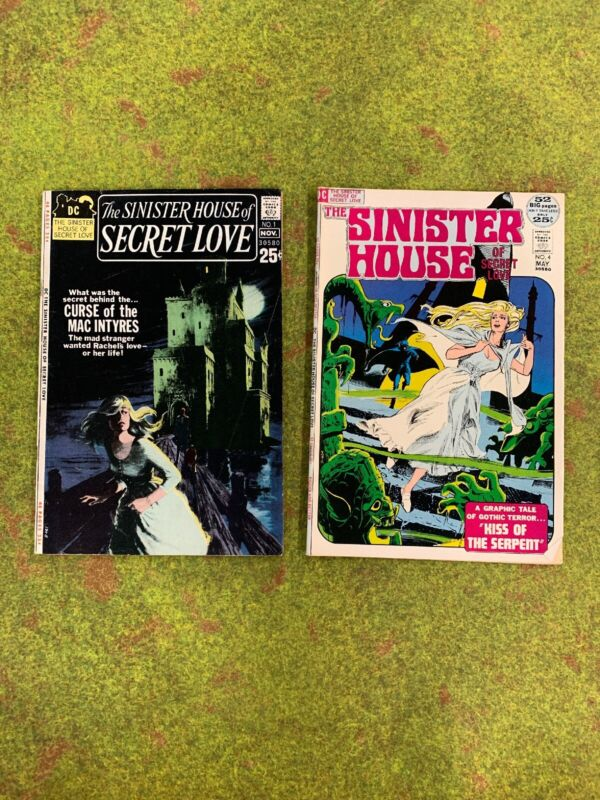 Sinister House of Secret Love #1 and #4