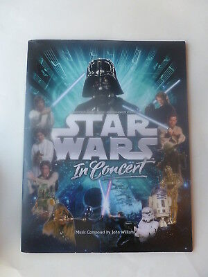 Star Wars in Concert, Another Planet Touring and Lucasfilm LTD, Present  PROGRAM
