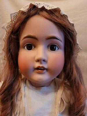 "Antique Kestner Doll 142 Big Girl 36"" Tall"