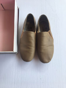 You can dance Beige Leather Jazz Shoes - size 6 1/2