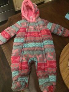 Snowsuit for girl