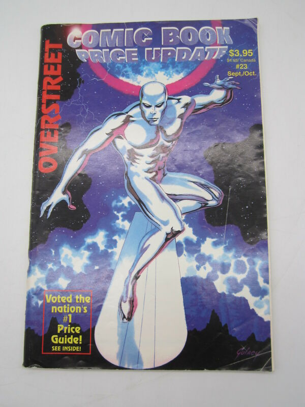 The Overstreet Comic Book Price Update #23 1992 Silver Surfer VG