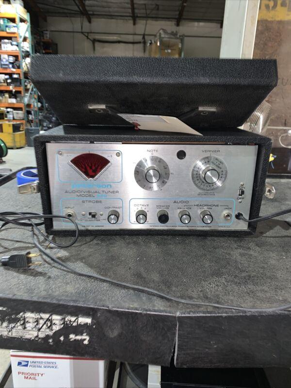 VTG RARE Peterson Model 520 Strobe Audio Tuner