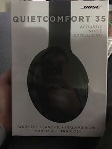 Bose wireless, noise cancelling headphones never been opened