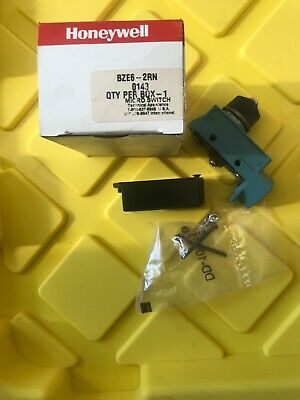 Honeywell Micro Switch Enclosed Limit Switch Bze6-2rn New