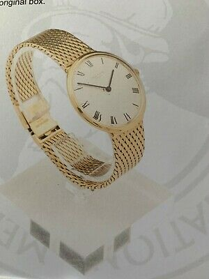 patek phillipe calatrava 18ct gold mens watch