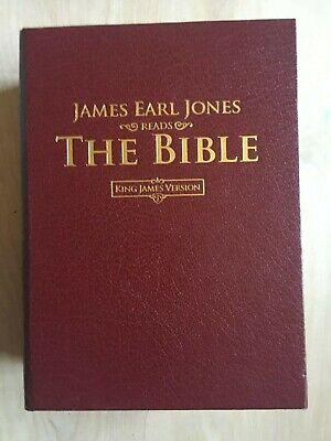 James Earl Jones Reads The Bible CD Audio Book King James Version New