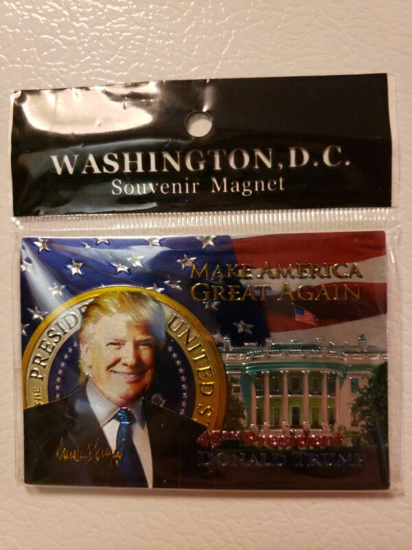 MAGA White House President Donald Trump 2020 Refrigerator Tool Box Magnet