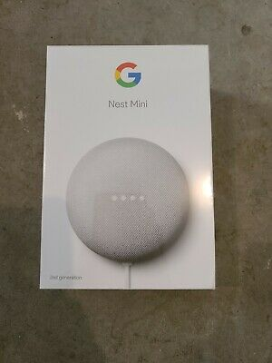 Google Nest Mini (2nd Generation) Smart Speaker - Chalk - GA00638-US   FREE SHIP