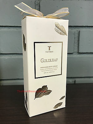 - Thymes Goldleaf Perfumed Body Creme 9.25oz -NEW PACKAGING- Fast Free Ship!