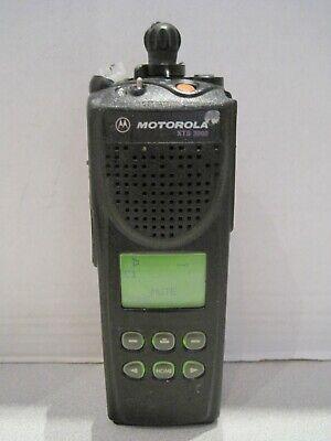 Motorola Xts 3000 16ch H09ucf9pw7an 800mhz Two Way Radio