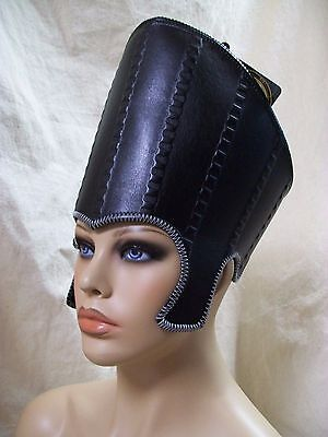 Disney Adult Time Hat Stitched Alice Looking Glass Oversized Egyptian Nefertiti