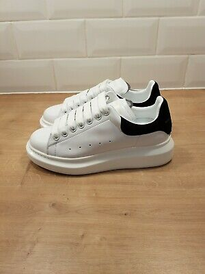 ALEXANDER MCQUEEN RUNWAY SNEAKERS TRAINERS SIZE EU 39 UK 6 WHITE