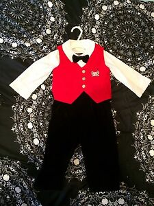 Boys 18 months Holiday Christmas outfit new with tags