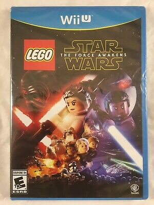 LEGO Star Wars: The Force Awakens (Nintendo Wii U, 2016) NIB, New Sealed BGH bcs