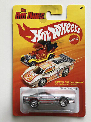 HOT WHEELS ONES 80S CORVETTE CHEVY CHEVROLET GRAY GREY SILVER ULTRA HOTS 1:64