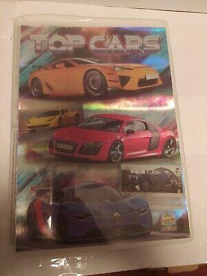 Álbum Top Cars Incompleto, Mundicromo