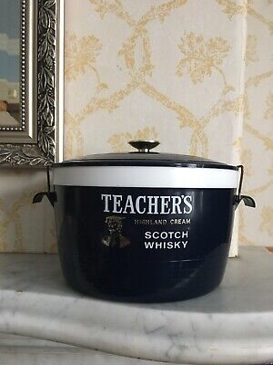 Retro Vintage Teachers Whiskey Ice Bucket Catering Thermal Welware Lunchbox Box