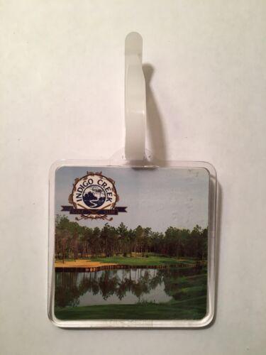 Vintage Rare Indigo Creek Golf Club Golf Bag Tag - Surfside, S.C. - A Beauty!
