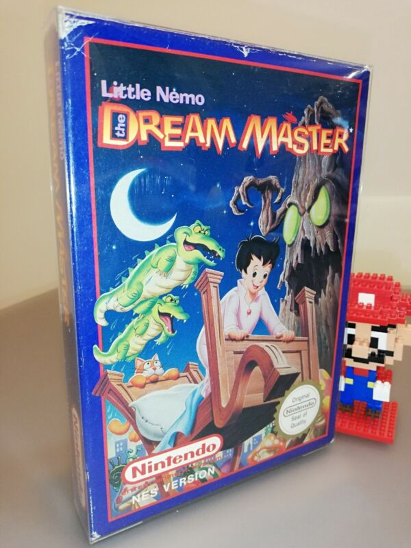 Little Nemo the Dream Master Nintendo Nes Pal A Ukv complete good conditions