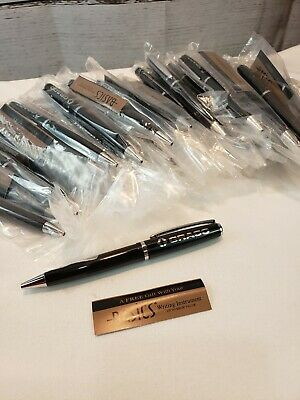 Lot50 Ballpoint Graco Inc High Quality Basics Pens Black Ink Twist Open