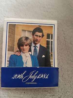 MARRIAGE HRH THE PRINCE OF WALES AND LADY DIANA SPENCER 29TH JULY 1981 MATCHES X