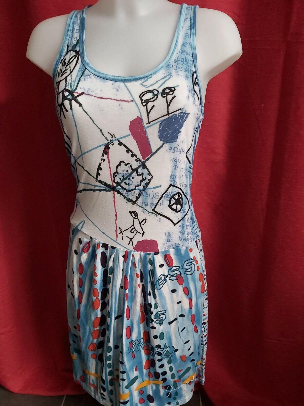 Très jolie robe desigual taille m/l