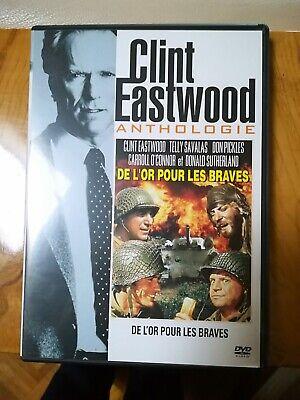 DVD DE L'OR POUR LES BRAVES CLINT EASTWOOD DONALD SUTHERLAND