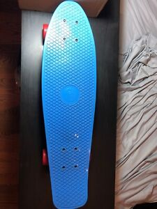 Blue and Red Fish Penny Board