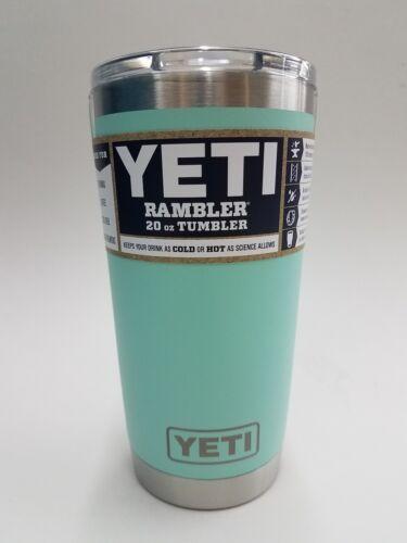 YETI RAMBLER 20 OZ TUMBLER - Mug Slider Lid Included