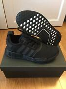 ADIDAS NMD R1 Triple Black US 7.5 Chippendale Inner Sydney Preview