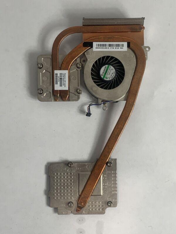 HP EliteBook 8560W INTEL Cooling Fan + HeatSink 652675-001 460402300-600-G
