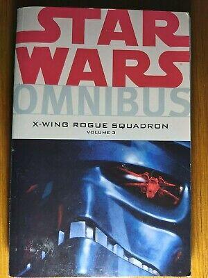 DARK HORSE COMICS STAR WARS OMNIBUS X-WING ROGUE SQUADRON VOLUME 3