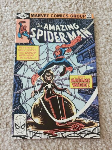 Amazing Spider-man #210, VF+ 8.5, 1st Appearance Madame Web