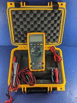 Fluke 179 Trms Multimeter Hard Case Accessories Excellent Condition More