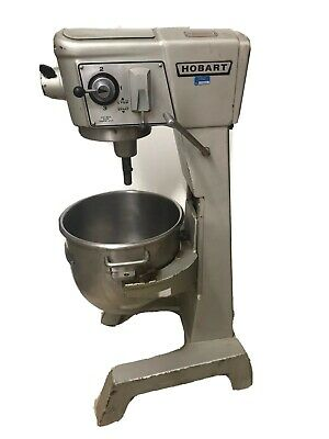 Hobart D-300 Bakery Dough Mixer 30 Qt W Bowl 12hp Industrial 3phase 460v